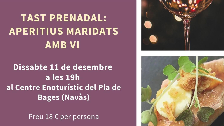 TAST PRE NADAL: APERITIUS MARIDATS AMB VI